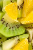 Kiwi och apelsin Royaltyfri Fotografi