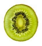 Kiwi odosobniony przejrzysty Zdjęcie Royalty Free