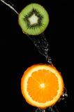 Kiwi orange Images libres de droits