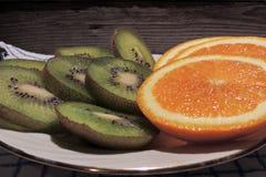 Kiwi Orange Fotos de archivo