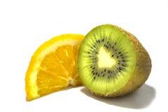 Kiwi and orange Stock Photos