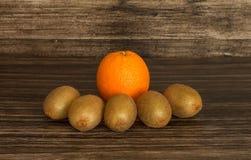 Kiwi and orange Royalty Free Stock Photo