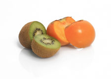 Kiwi and other fruit Stock Photography