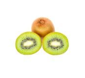 Kiwi owoc ścinku ścieżka Zdjęcia Royalty Free