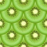 Kiwi owoc bezszwowa tekstura Zdjęcia Stock
