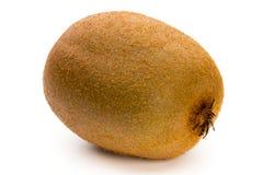 Kiwi owoc i pokrajać odosobniony na białym tle Zdjęcia Royalty Free