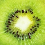 Kiwi owoc Makro- Obraz Stock