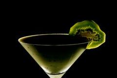 Kiwi owoc Milkshake Fotografia Stock