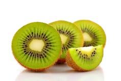 Kiwi owoc na białym tle Obraz Royalty Free
