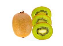 Kiwi owoc odizolowywająca, ścinek ścieżka Fotografia Royalty Free