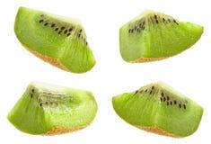 Kiwi owoc plasterek zdjęcie royalty free