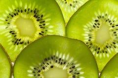 Kiwi owoc pokrajać zakończenie Zdjęcia Stock