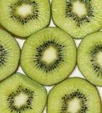 Kiwi owoc z białym tłem Obraz Stock