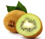 kiwi owocowa sekcja fotografia stock