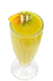 Kiwi and passionfruit cocktail Royalty Free Stock Image