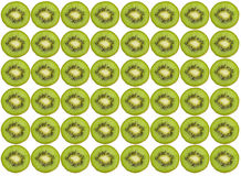 Kiwi pattern Royalty Free Stock Image