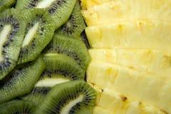 kiwi pineaple Obraz Stock