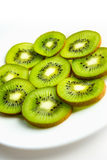 Kiwi on a plate Royalty Free Stock Photo