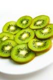 Kiwi on a plate Royalty Free Stock Photo