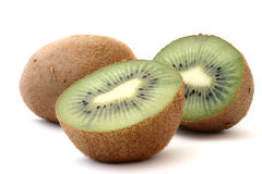 Kiwi profile on white #2 Royalty Free Stock Photos