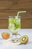Kiwi refreshing drink Royalty Free Stock Photos