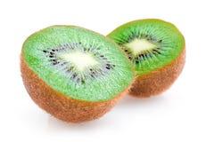 Kiwi. Ripe kiwis on white background stock images