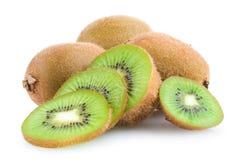 Kiwi. Ripe kiwis on white background stock photo