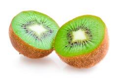 Kiwi. Ripe kiwis on white background stock photos