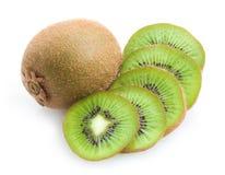 Kiwi. Ripe kiwis on white background stock image