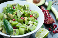 Kiwi Salsa Royalty Free Stock Images