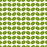 Kiwi sans couture de fond de modèle Vecteur illustration stock