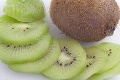 Kiwi sans peau Photographie stock libre de droits
