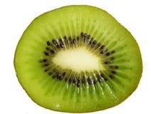 Kiwi schneidet Hintergrund Lizenzfreie Stockfotografie