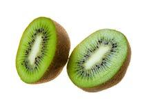 Kiwi schnitt in zwei Lizenzfreies Stockbild