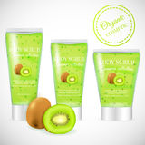 Kiwi scrub tube Royalty Free Stock Images