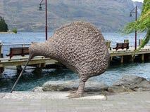 Kiwi Sculpture Lizenzfreie Stockbilder