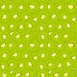 Kiwi seamless pattern Royalty Free Stock Photos