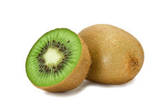 Kiwi section Royalty Free Stock Images