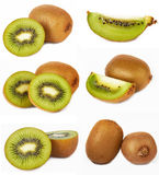 Kiwi set Royalty Free Stock Image
