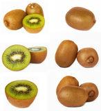 Kiwi set Stock Photo