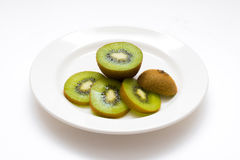 Kiwi skivad kiwi för ‹för †Royaltyfri Bild