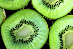 Kiwi slice Royalty Free Stock Photos