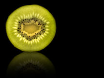 Kiwi slice Stock Photo
