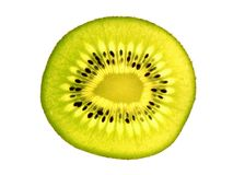 Kiwi slice. Color photo of kiwi slice Stock Photos