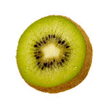 Kiwi Slice. Isolated on a white background. Isolation is on a transparent layer in the PNG format stock image