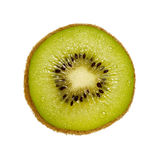 Kiwi Slice. Isolated on a white background. Isolation is on a transparent layer in the PNG format stock images