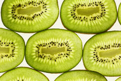 Kiwi slice background Royalty Free Stock Photos