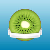 Kiwi slice Royalty Free Stock Image