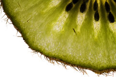 Kiwi slice - detail Royalty Free Stock Images