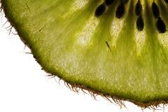 Kiwi slice - detail royalty free stock images